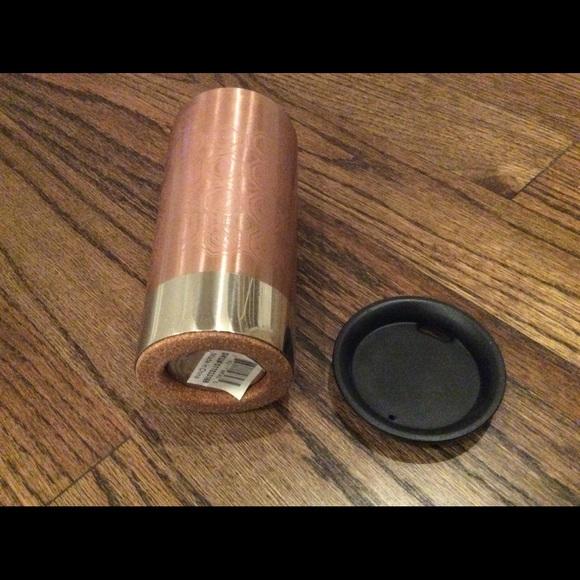Starbucks tumbler diamond pattern unused 2012 12OZ